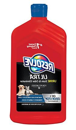 Resolve Ultra Urine Stain & Odor Eliminator for Pet Messes,